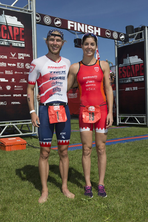 On Sunday, June 9, nearly 2,000 amateur and professional athletes took the plunge into 59.5-degree water to compete in the 39th Annual Escape from Alcatraz™ Triathlon. Olympians Ben Kanute (USA) and Ashleigh Gentle (AUS) took first place honors in the men and women's pro division.