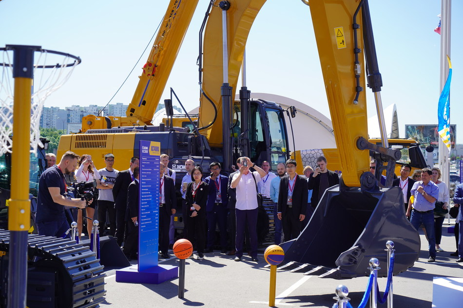 "XCMG Brings ""Advanced and Endurable"" Equipment to Bauma CTT Russia 2019"