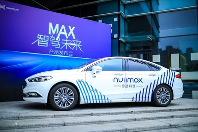 Nullmax showcased an autonomous vehicle equipped with MAX solution