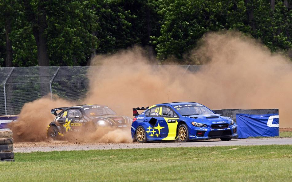 Subaru and Scott Speed Take Rallycross Win at Mid-Ohio