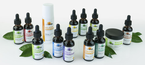 CANVIVA™ introduces the largest line of functional CBD tinctures in the industry. CANVIVA CBD oil tinctures, many containing essential oils, are specially formulated to help provide effective relief for a variety of health concerns including pain, mood enhancement, and insomnia. Our hemp-derived PURE CERTIFIED CBD™ Oil is third party tested, phytocannabinoid-rich, full spectrum, and organically grown in the U.S. Maximize your CBD experience with CANVIVA. Trust us, there is a difference.