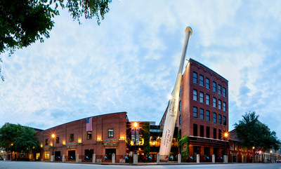 The legendary Louisville Slugger Museum & Factory attracts over 300,000 guests each year.
