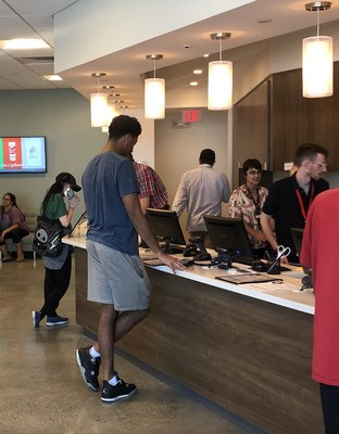 Garden Remedies – Marlborough customers enjoy an easy and efficient cannabis purchasing experience on the dispensary's opening day, Sunday, July 9.  Garden Remedies Marlborough is currently serving adult use customers over age 21 and is awaiting regulatory approval for medical cannabis sales.