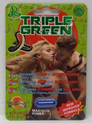 Triple Green (Groupe CNW/Santé Canada)