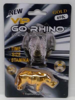 VIP Go Rhino Gold 69K (Groupe CNW/Santé Canada)