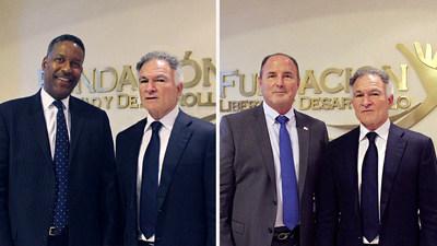 Dionisio Gutiérrez se reunió con Peter Edge, ex Director de ICE, y Donald Delucca, ex Jefe de la Policía de Miami