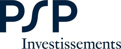 Logo : PSP Investissements (Groupe CNW/Investissements PSP)