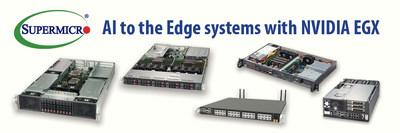 Supermicro oferece grande variedade de sistemas para Plataforma de Computação NVIDIA EGX Edge