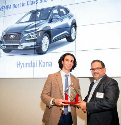 Hyundai Kona Wins Best-In-Class Subcompact SUV from New England Motor Press Association