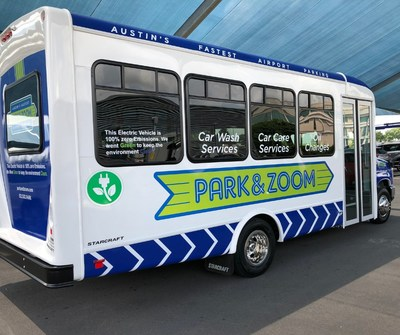 Park&Zoom at Austin-Bergstrom International Airport Adding Three New Phoenix Motorcars All-Electric Shuttles To Their Fleet