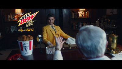 Meet Sweet - he's the MTN DEW pitchman who is sweet, smooth and lightning-fast enough to become a mainstay at KFC, where the food is finger lickin' good.