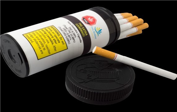 Pure Cannabis Cigarettes to be Introduced to Canadian Cannabis Market (CNW Group/THC BioMed)