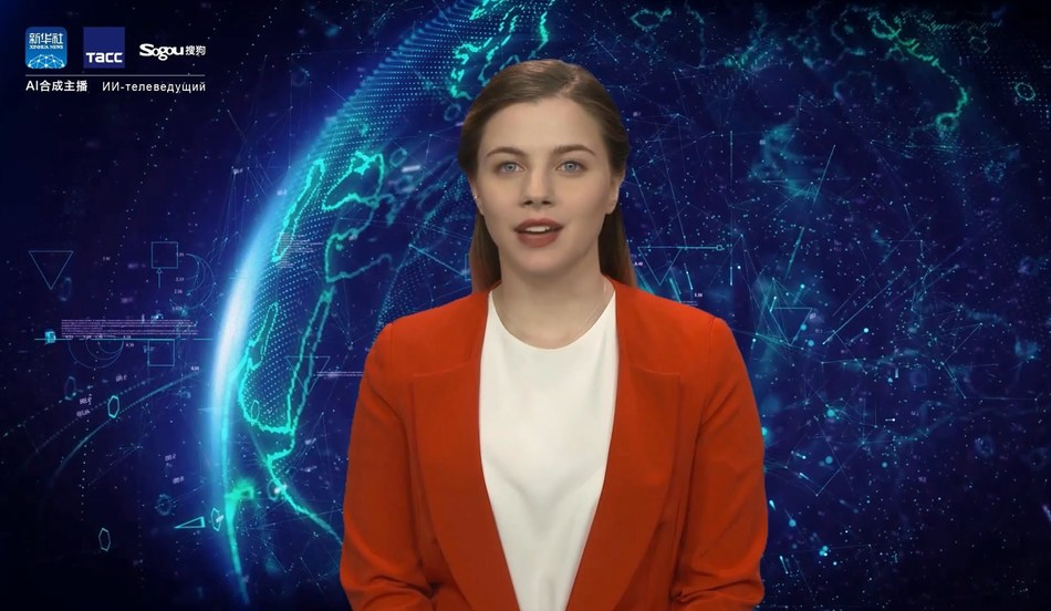 Sogou launches the world's first Russian-speaking AI News Anchor in partnership with ITAR-TASS and Xinhua News Agency