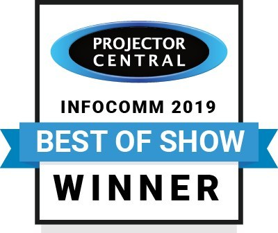 ProjectorCentral InfoComm 2019 Best of Show Awards