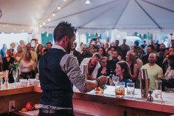 Nic Wallace competes in the Speed Round Showdown at the USBG 2019 World Class Finals