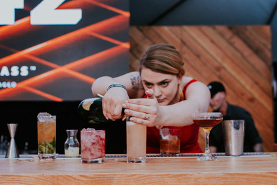 Rebecca Edwards competes in the Speed Round Showdown at the USBG 2019 World Class Finals