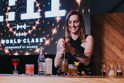 Katie Renshaw flexing her craft during the Speed Round Showdown at the USBG 2019 World Class Finals