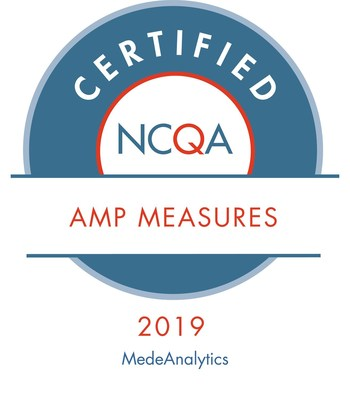 MedeAnalytics Quality Management Achieves 2019 Certification from NCQA for AMP Certified Measures(SM)