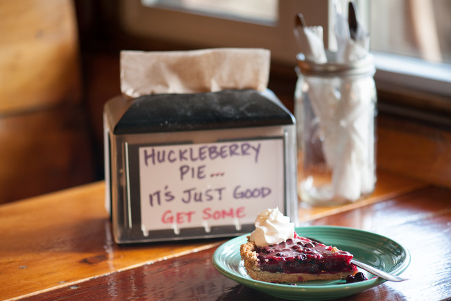 Savor a sweet slice of summer with Montana's signature huckleberries. (Photo Courtesy: Visit Montana)