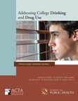 New student substance use report urges evidence-based action by college presidents and trustees