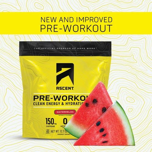 Ascent launches new and improved pre-workout recipe