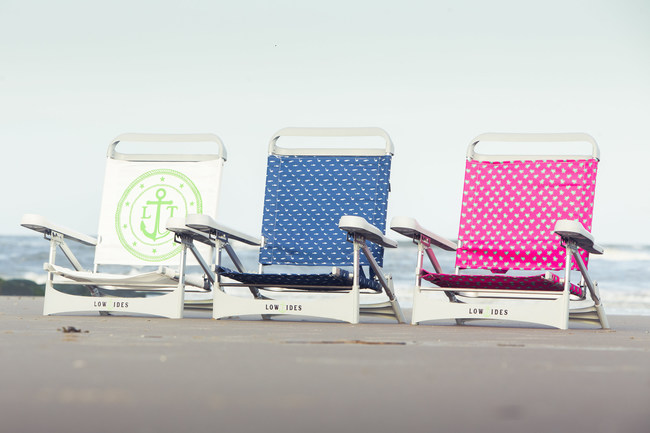 Made with 2.5lbs of Upcycled Ocean Bound Plastic, LowTides OP Beach Chairs are Helping Save the Ocean One Beach at a Time.