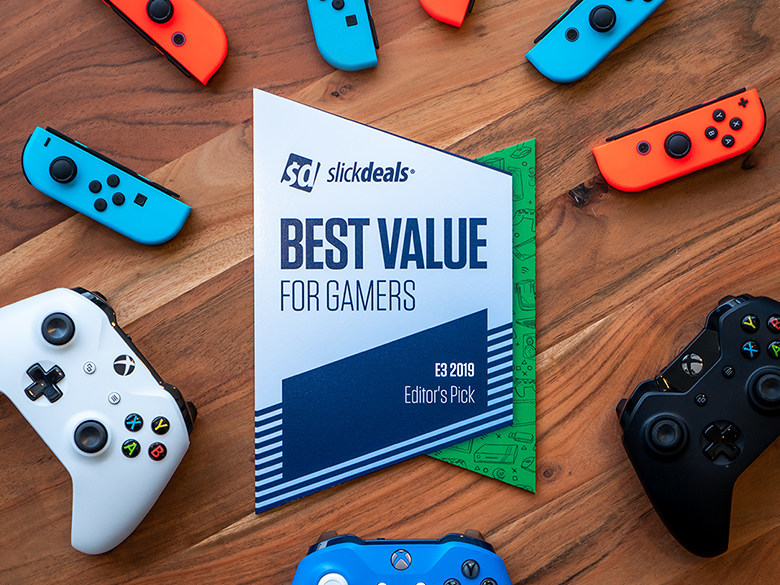 "Slickdeals' Second Annual ""Best Value for Gamers"" Awards"