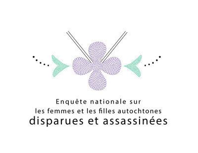 Logo : Enquête nationale sur les femmes et les filles autochtones disparues et assassinées (Groupe CNW/Enquête nationale sur les femmes et les filles autochtones disparues et assassinées) (Groupe CNW/Enquête nationale sur les femmes et les filles autochtones disparues et assassinées)
