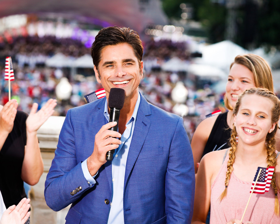Two-time Emmy Award-nominated actor and producer John Stamos (Netflix's YOU, FULLER HOUSE, ER) returns to host the country's longest-running live national July 4th TV tradition.The 39th annual broadcast of A CAPITOL FOURTH airs on PBS Thursday, July 4, 2019 from 8:00 to 9:30 p.m. ET before a concert audience of hundreds of thousands, millions more at home, as well as to our troops serving around the world on the American Forces Network.