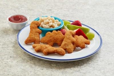 PERDUE® Chicken Plus™ Panko Breaded Chicken Breast & Vegetable Dino Nuggets