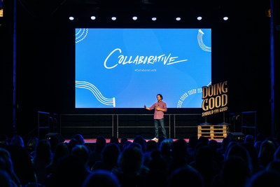 World-Changing Work was unveiled at Classy's annual social impact event, the Collaborative, to over 1,200 social sector leaders.