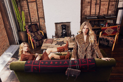 To bring the collection and rock theme to life, eBay and What Goes Around Comes Around tapped IT girls Theodora and Alexandra Richards for the campaign's look book.