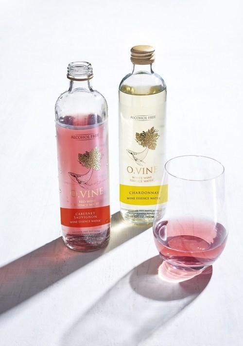 Refreshingly new: O.Vine varietal wine-essence water