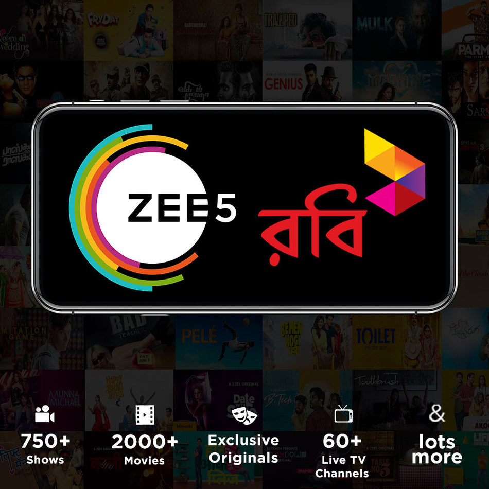 ZEE5 - Robi partnership