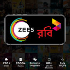 Global Streaming Service ZEE5 now Available for Robi and Airtel Customers