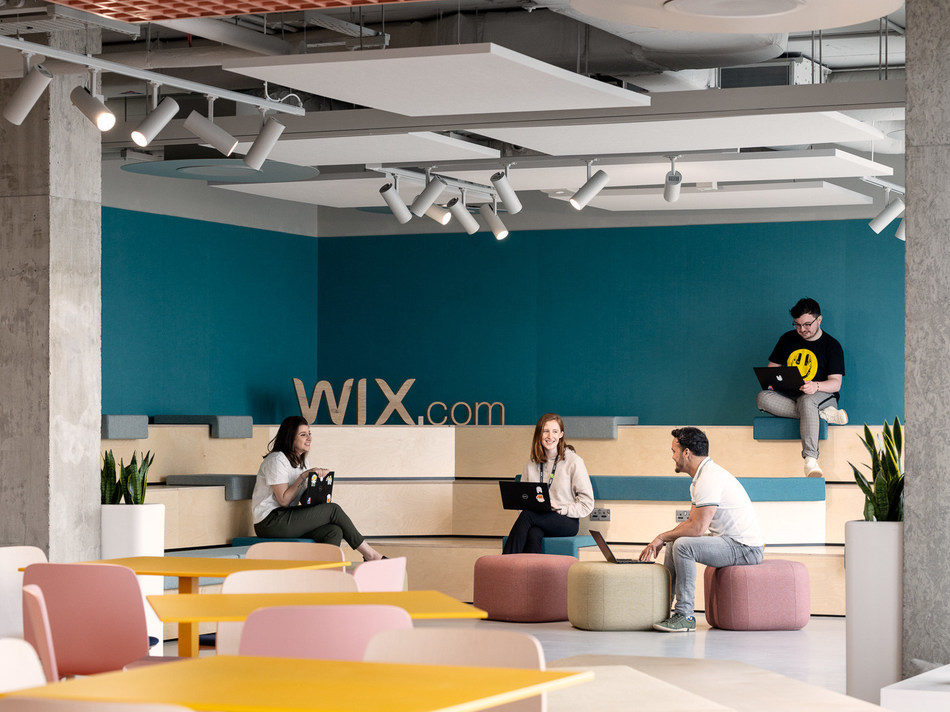 The Wix office in Dublin is located in the Grand Canal Docks.