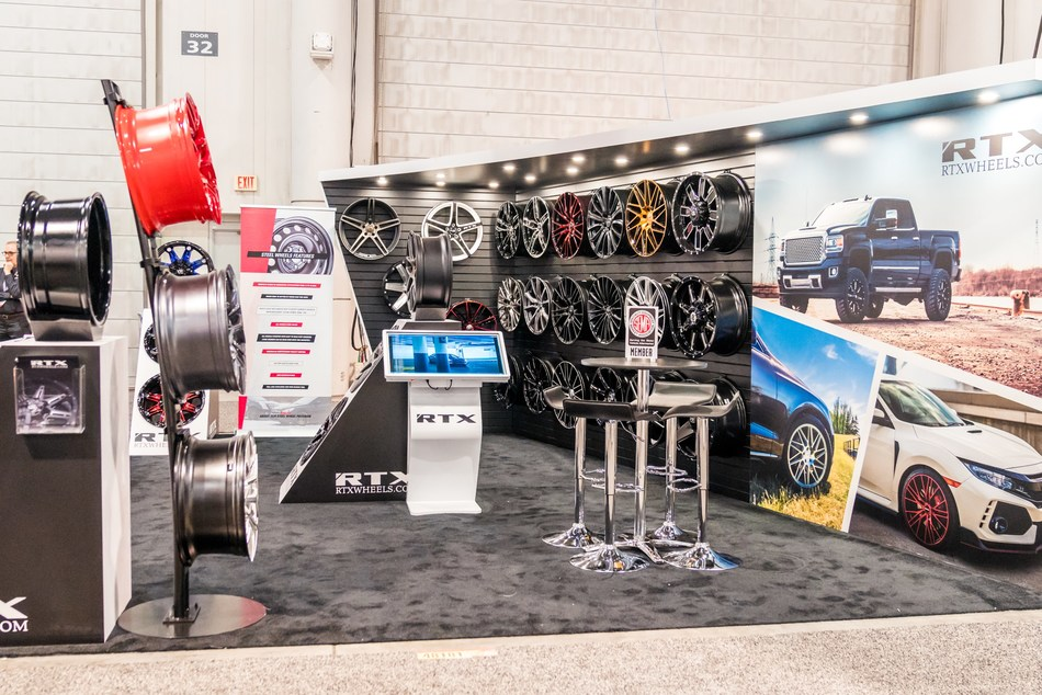 RTX Wheels will feature new designs at its third straight appearance at the SEMA Show, the top automotive specialty products trade event in the world, in November.