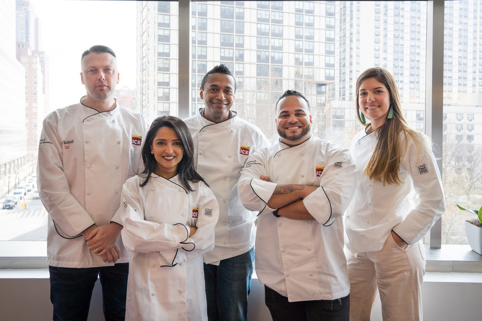 Celebrity Dining: Rory Macdonald, Palak Patel, Chris Scott, Kelvin Fernandez and Adriana Urbina join the Institute of Culinary Education. The diverse group of food experts will share their insights and experiences with the next generation of ICE students.