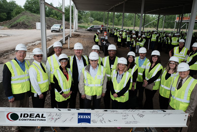 ZEISS completes steel construction of new state-of-the-art