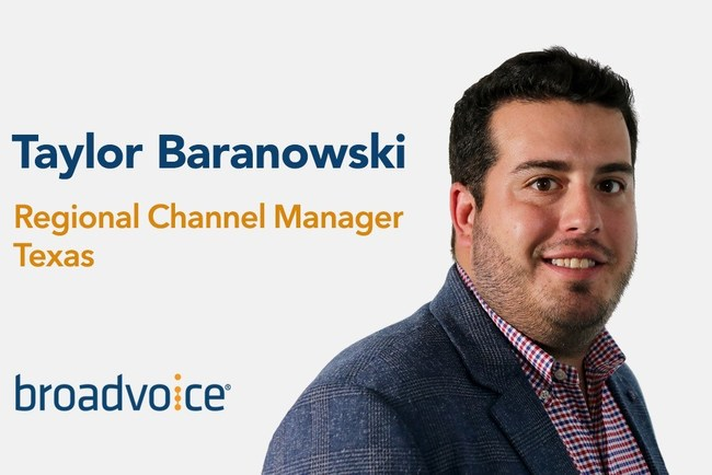 Taylor Baranowski Regional Channel Manager Texas