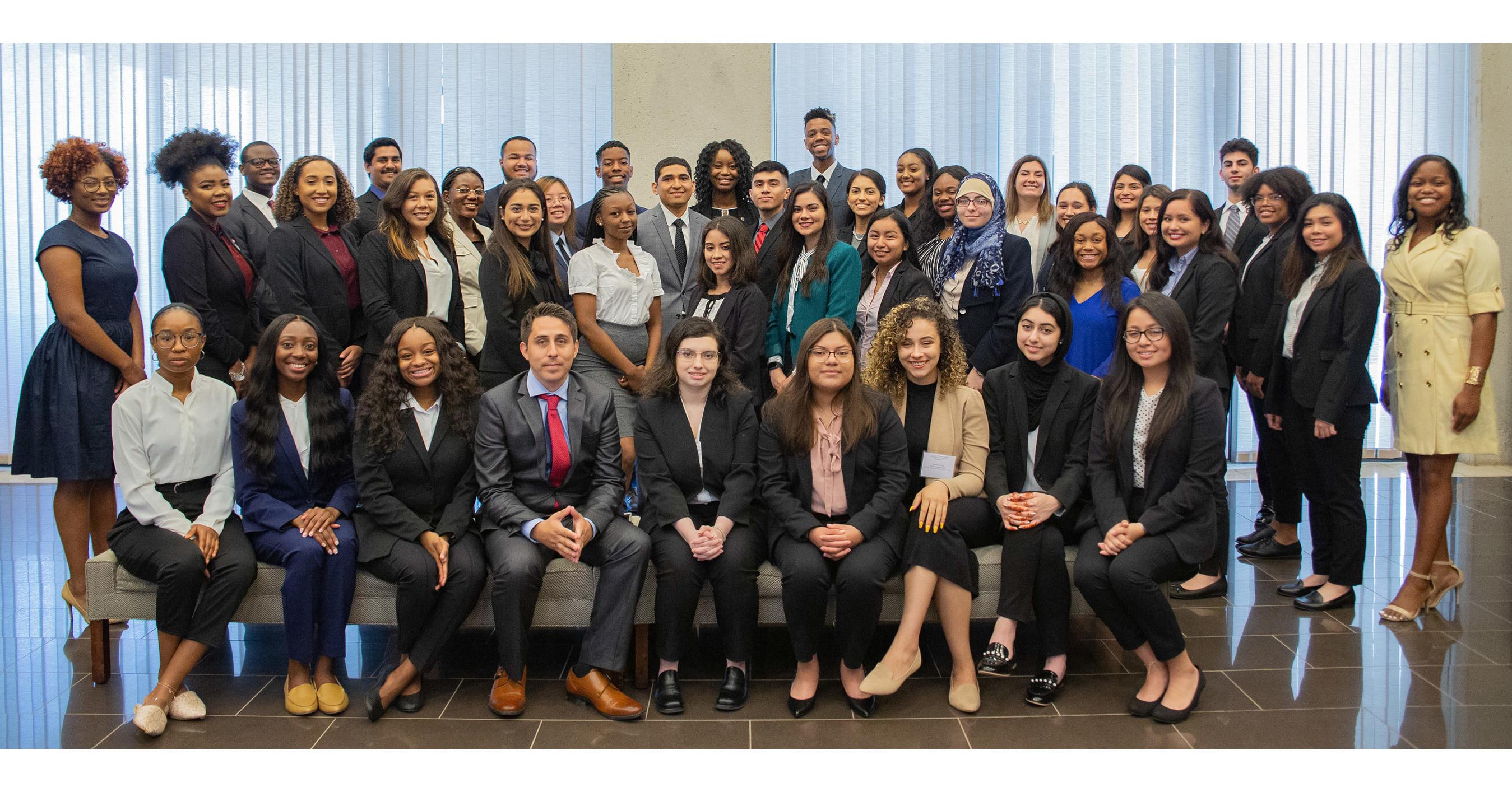 UH Law Center's award-winning Pre-Law Pipeline Program
