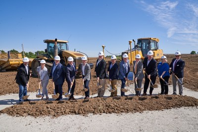 Kroger and Ocado Break Ground on America's First High-Tech Customer Fulfillment Center in Monroe, OH.