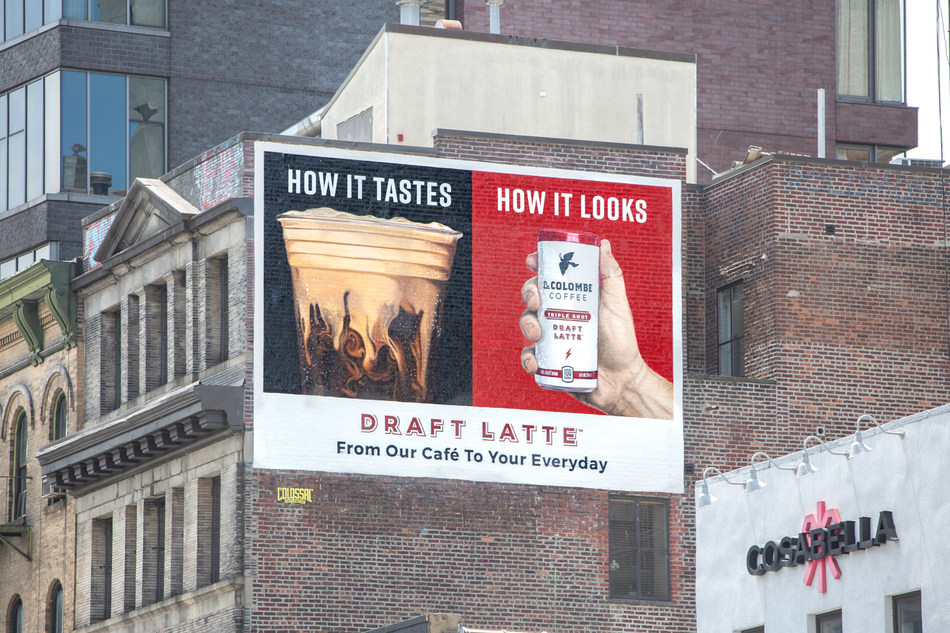 La Colombe Coffee Roasters® Launches its First-Ever Advertising Campaign Celebrating Mouth-Watering Images You Can Taste
