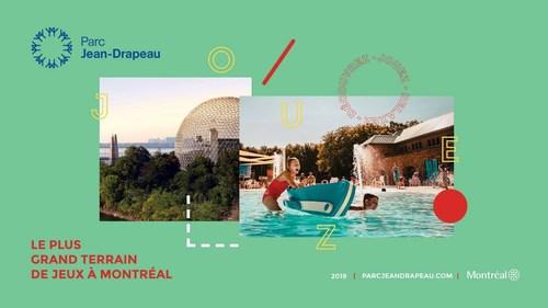 Le parc Jean-Drapeau, le plus grand terrain de jeux à Montréal (Groupe CNW/SOCIETE DU PARC JEAN-DRAPEAU)