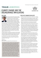 TLSS Partners with Aspen Re to Publish White Paper on Impact of Climate Change on the (Re)insurance Market