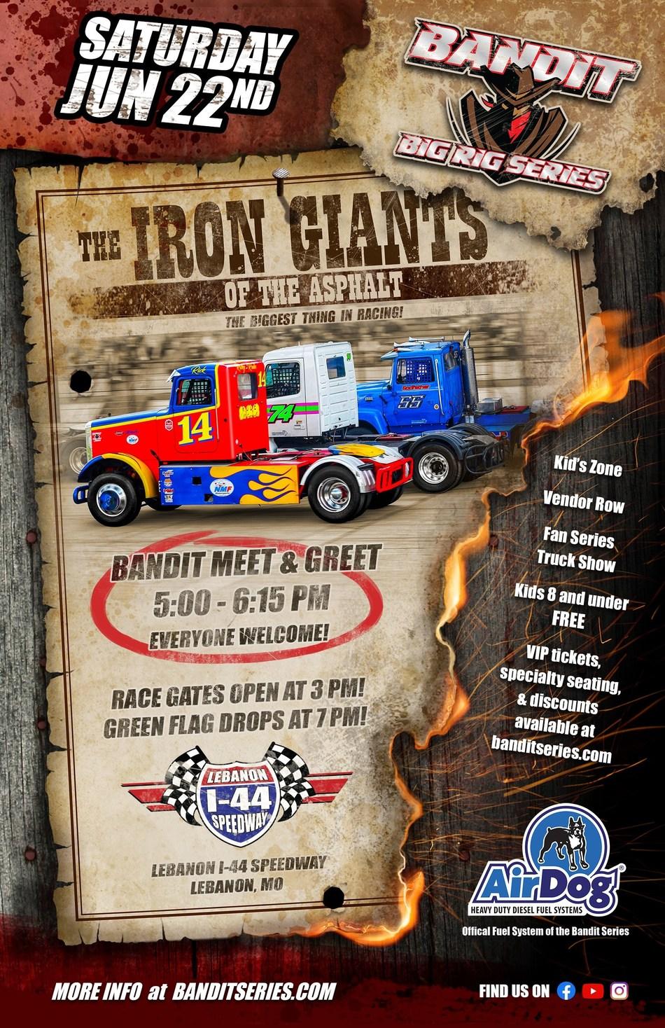 Lebanon I-44 Speedway Race Poster