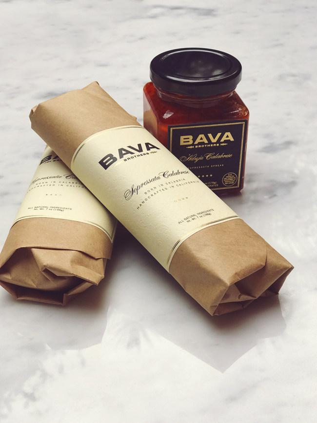 Sopressata and nduja packaging images.