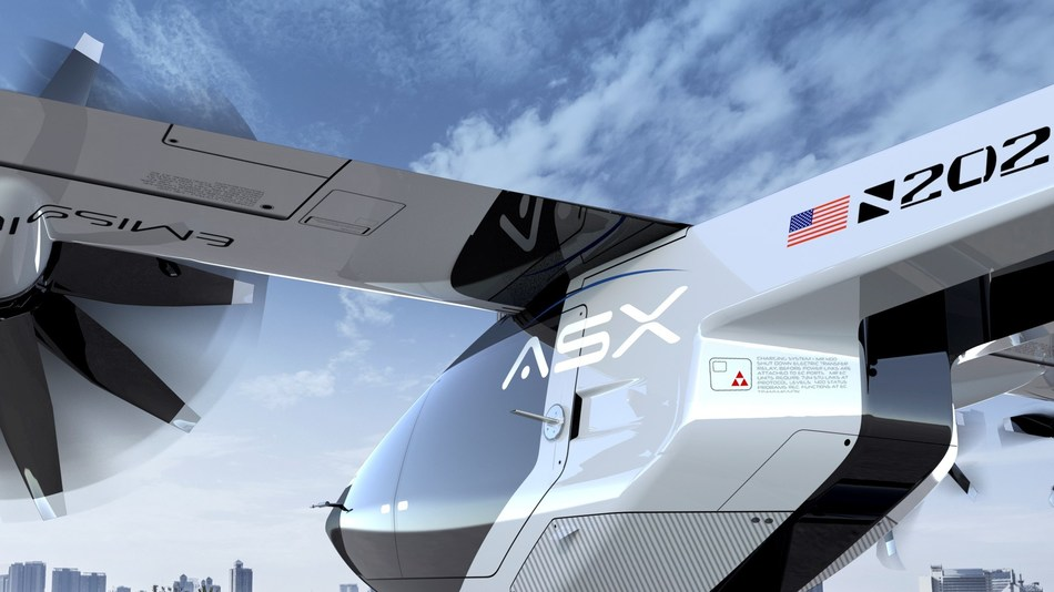 Airspace Experience Technologies, MOBi-One eVTOL Aircraft, 2019
