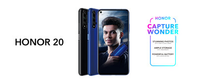 HONOR 20 to launch in the UK on 21 June