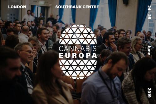 Cannabis Europa 2019, 24-25 June (PRNewsfoto/Cannabis Europa)